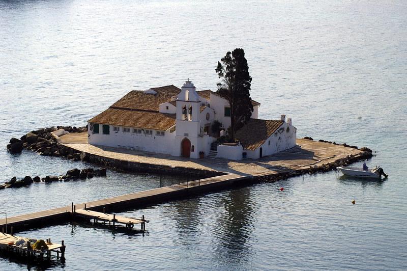 Vlacherna Pontikonisi Corfu